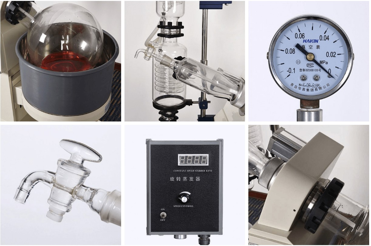 The Features of The Rotary Evaporators With Hand Lift