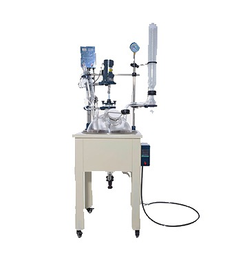 chemical glass reactor for sale