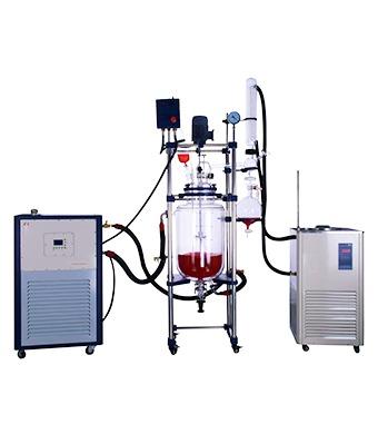 double glass reactor