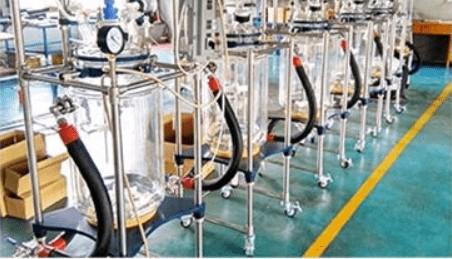 glass reactor shipping