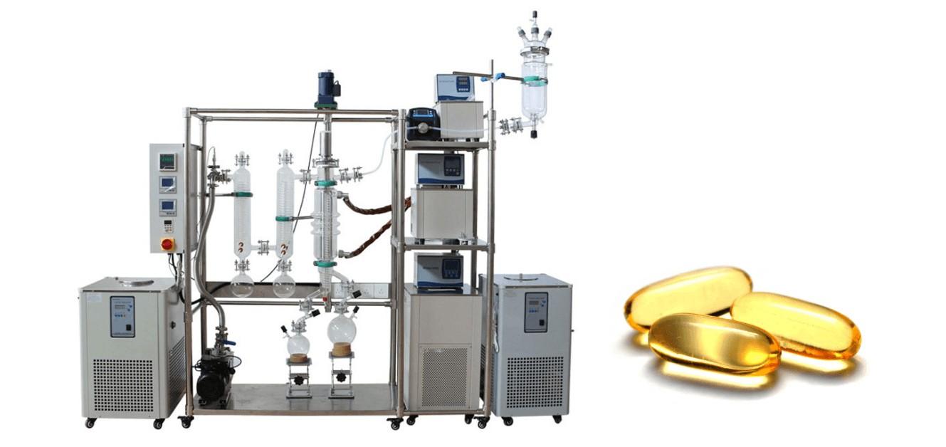 molecular distillation fish oil extraction