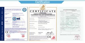 well-known certifications
