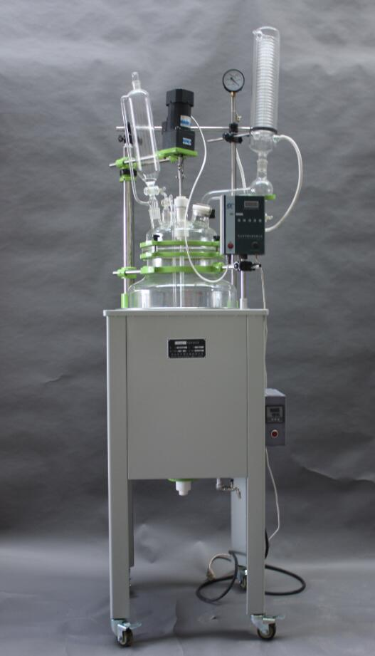 single layer glass reactor in pharma