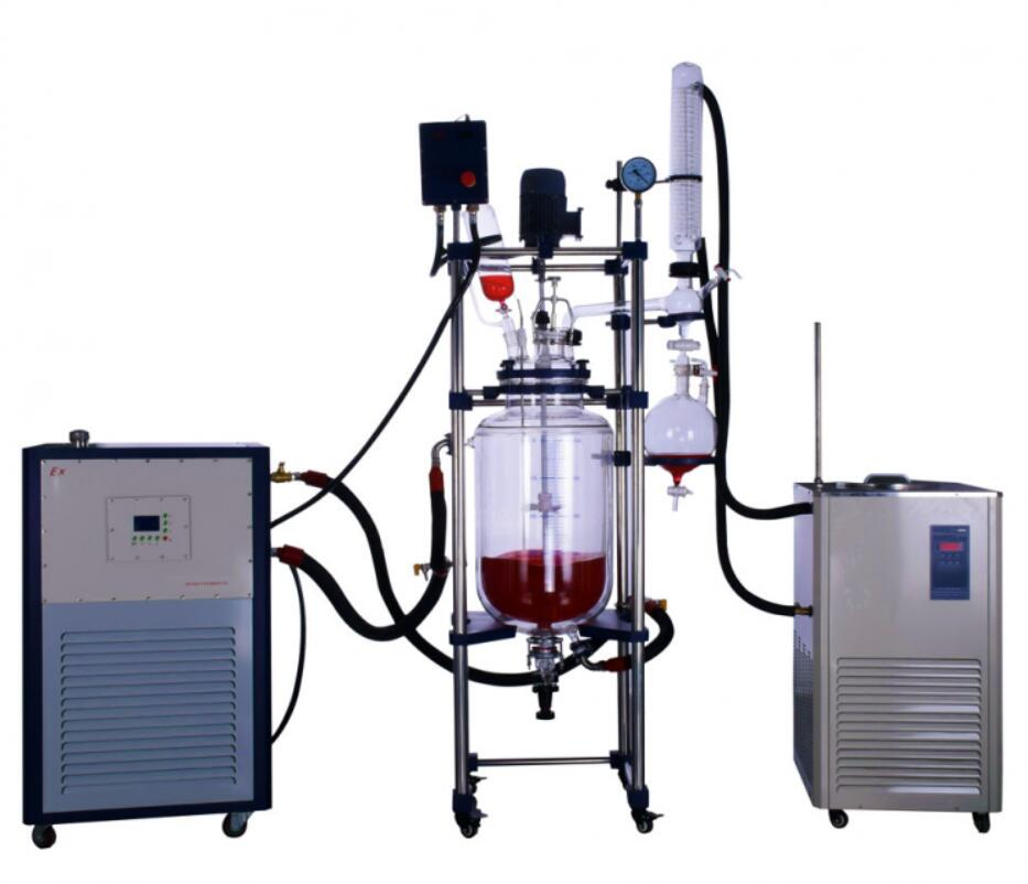 30L Pilot Glass Reactor