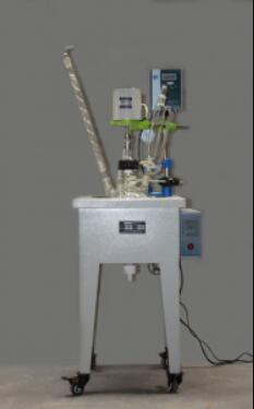 3L small single-layer glass reactor