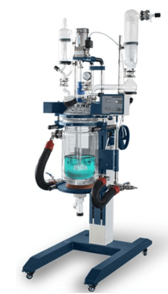 50 Liter glass reactor applications