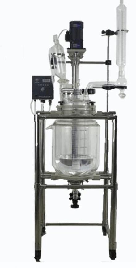 50L glass reactor price