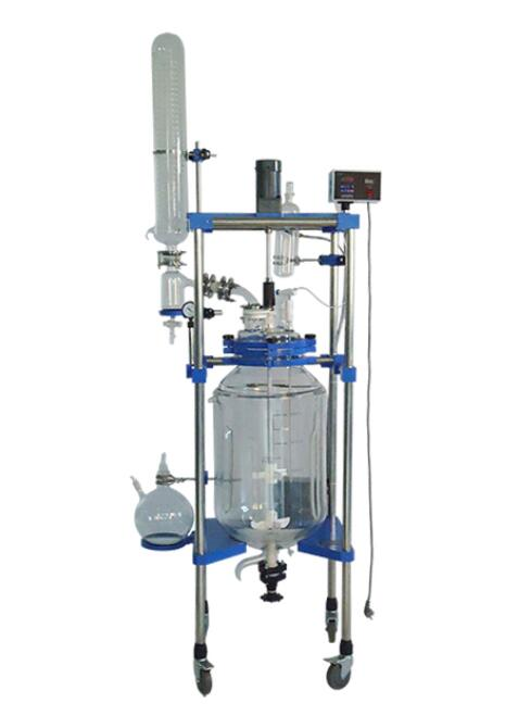Quality 80L Pilot Type Glass Reactor