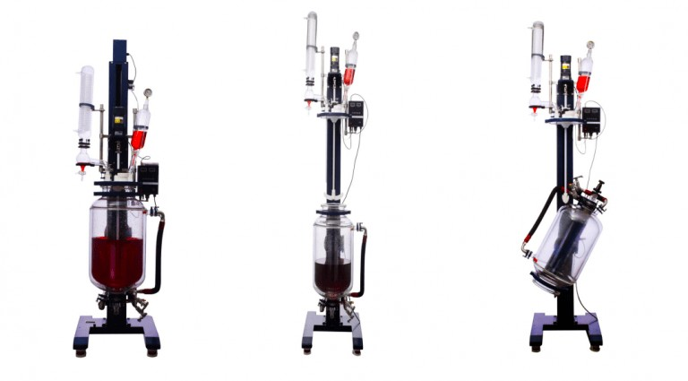 Chemical Glass Reactor features
