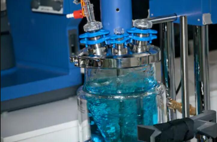 Continuous Stirred Tank Glass Reactor used for industry
