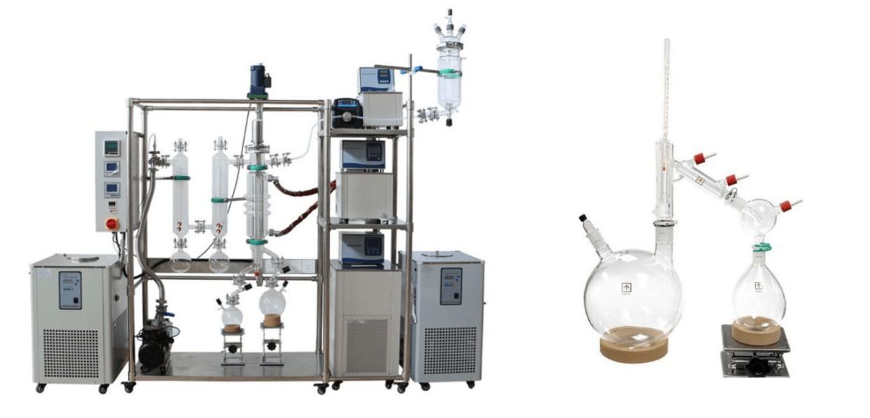 Short Path Distillation vs Molecular Distillation