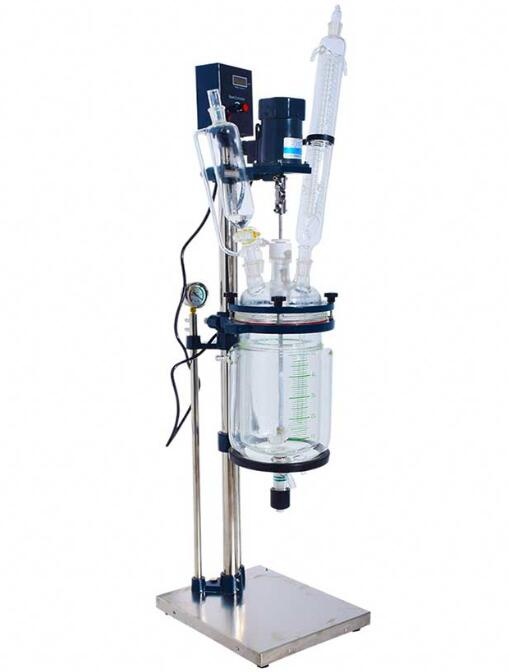 The Applications Of 5 Liters Glass Reactor in Laboratory