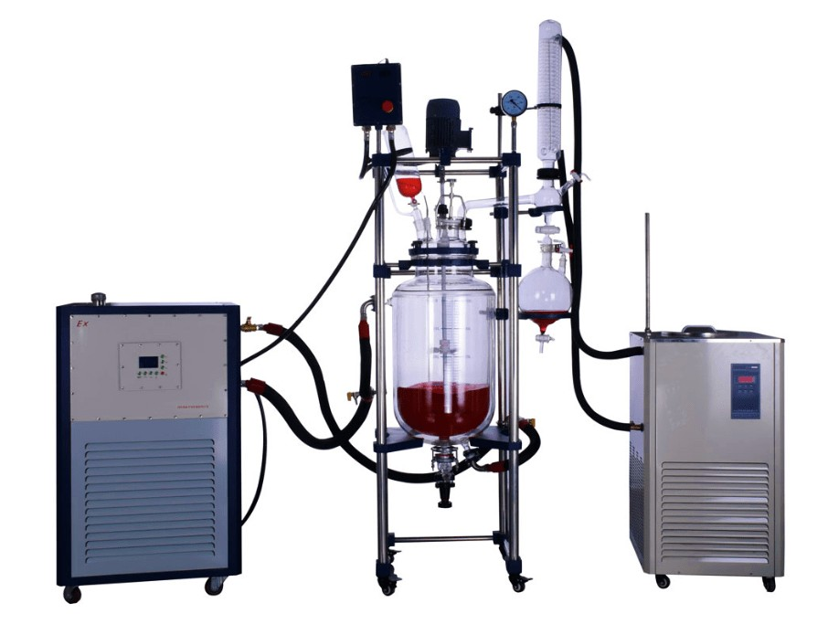 pharmaceutical continuous glass reactor