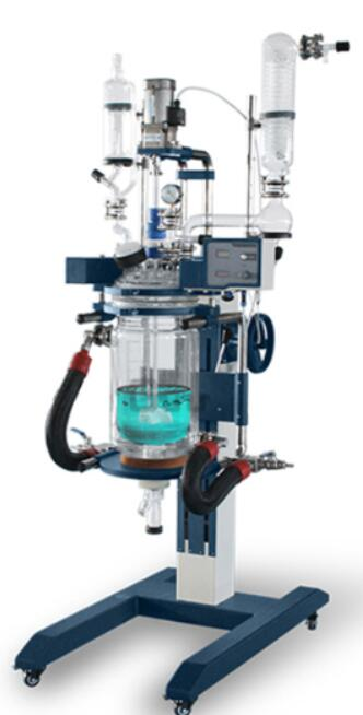 continuous glass reactor for lab