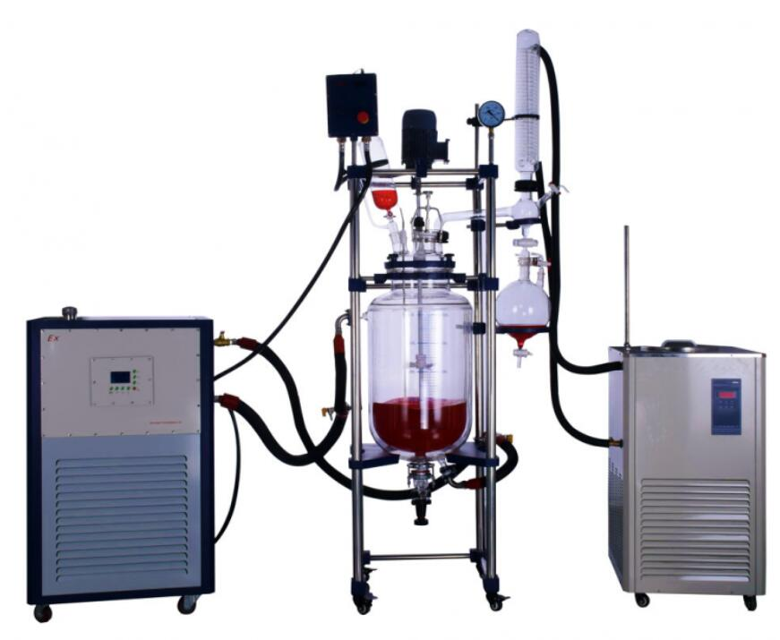 what is the expertise of three layer glass reactor