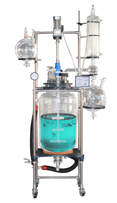 pharma glass reactor