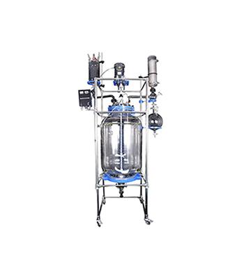 glass reactor vessel