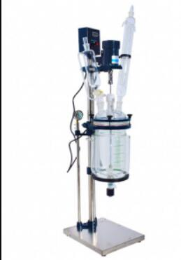 laboratory use jacketed glass reactor
