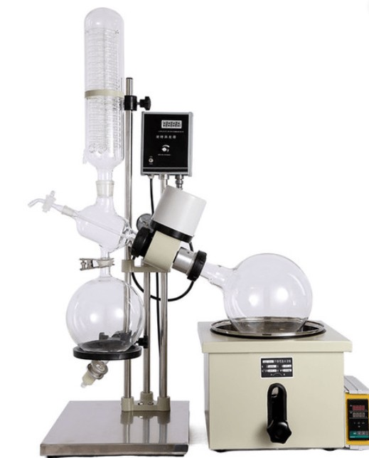 lab rotary evaporator with hand lift definition