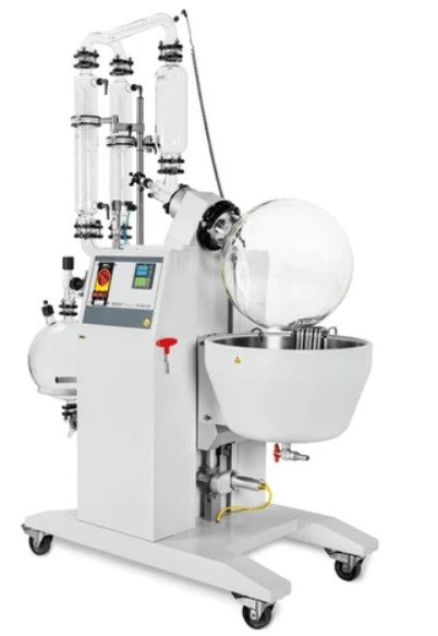 large scale rotary evaporator definition