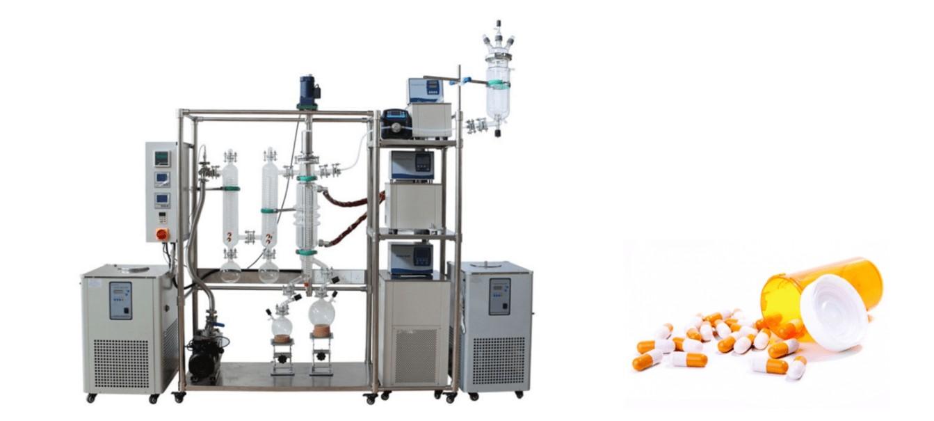 molecular distillation in pharmaceutical