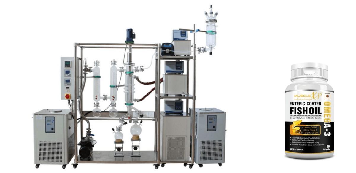 molecular distillation to get omega-3