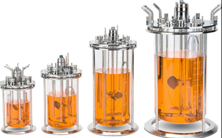 what is the sizes of three layer glass reactor