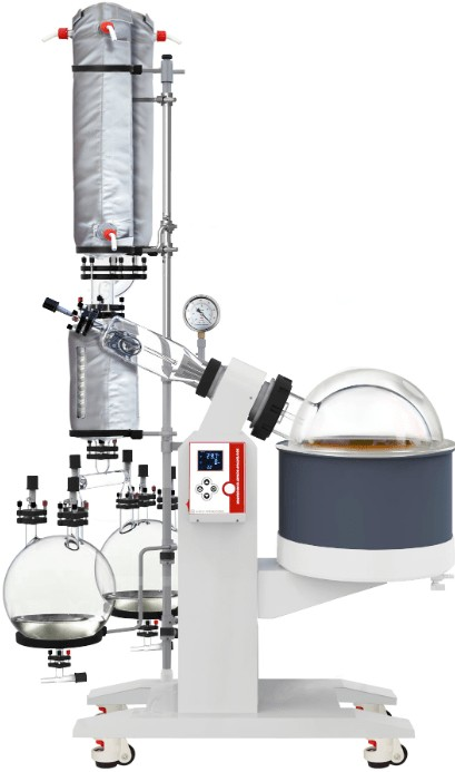 the features of 20L rotary evaporator for sale