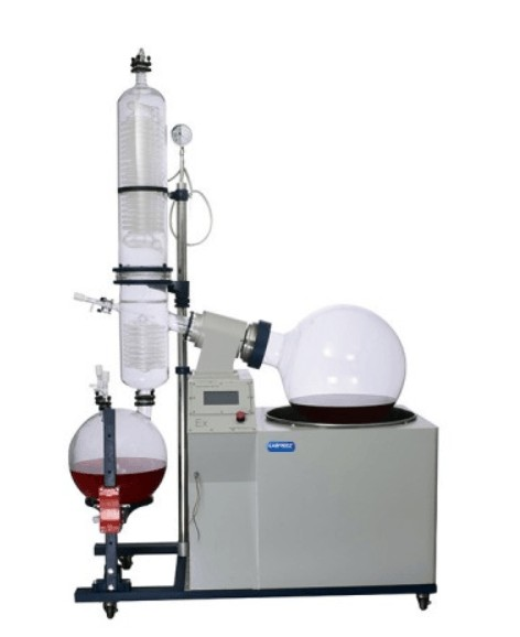 2L rotary evaporator features