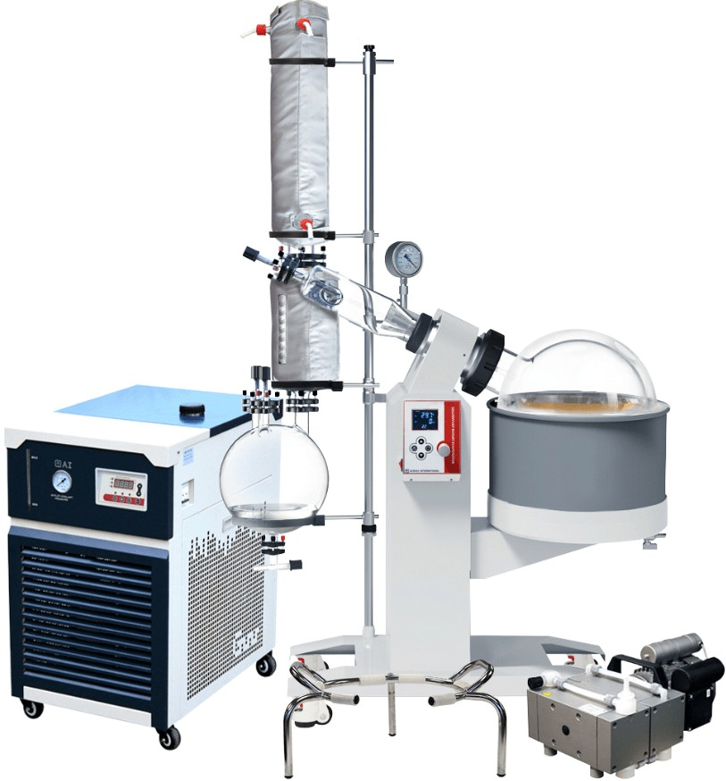 the ideal size of large rotary evaporator