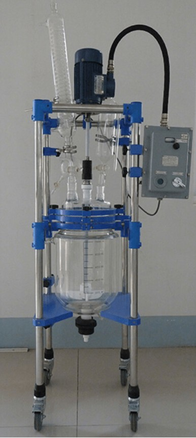 three layer glass reactors definition