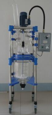 what is three layer jacketed glass reactor
