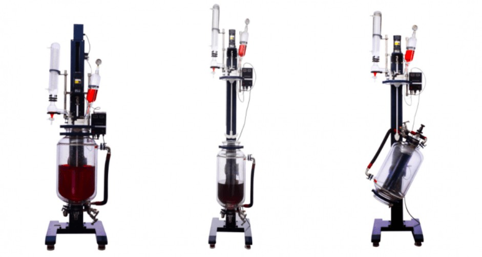 WKIE LAB chemical glass reactor