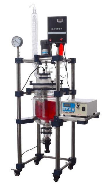 WKIE LAB glass reactor in pharma