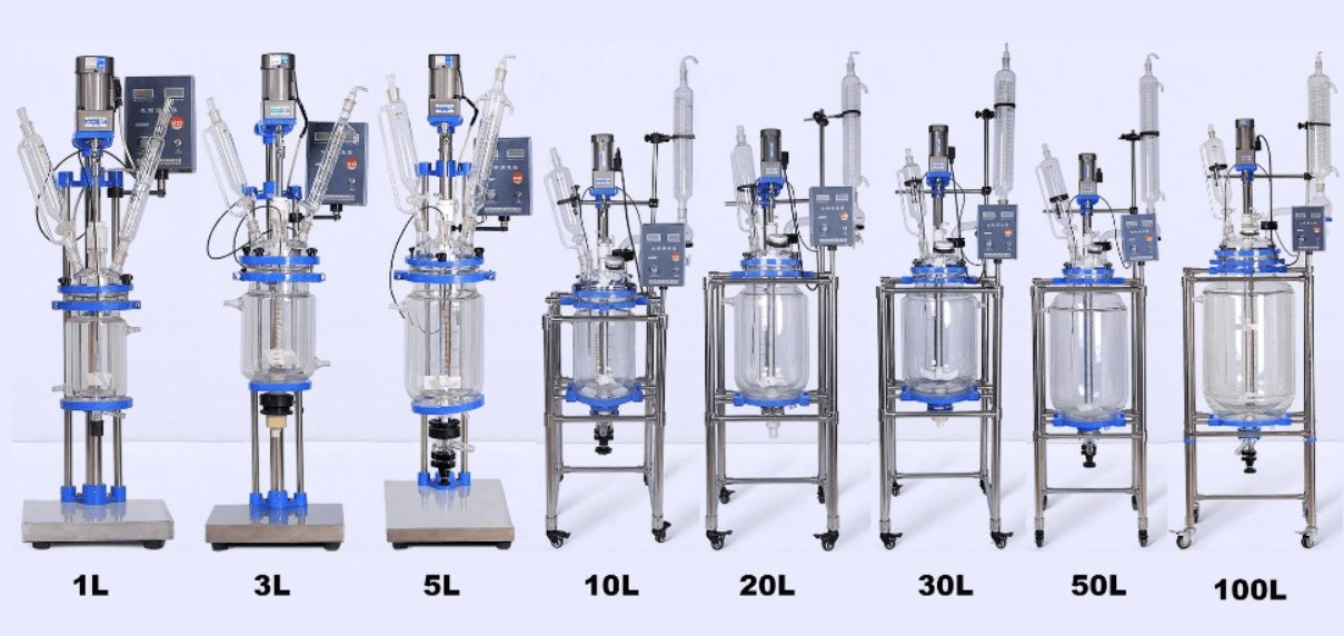 chemical glass reactor price