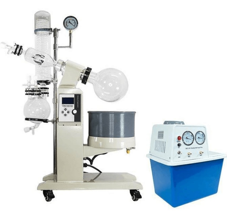 rotary evaporator cooking set up