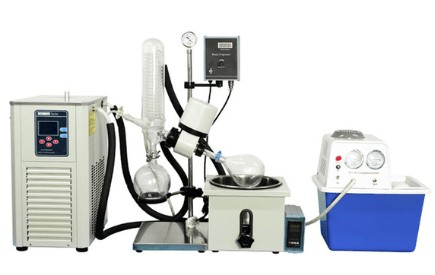 lab rotary evaporator parts and function