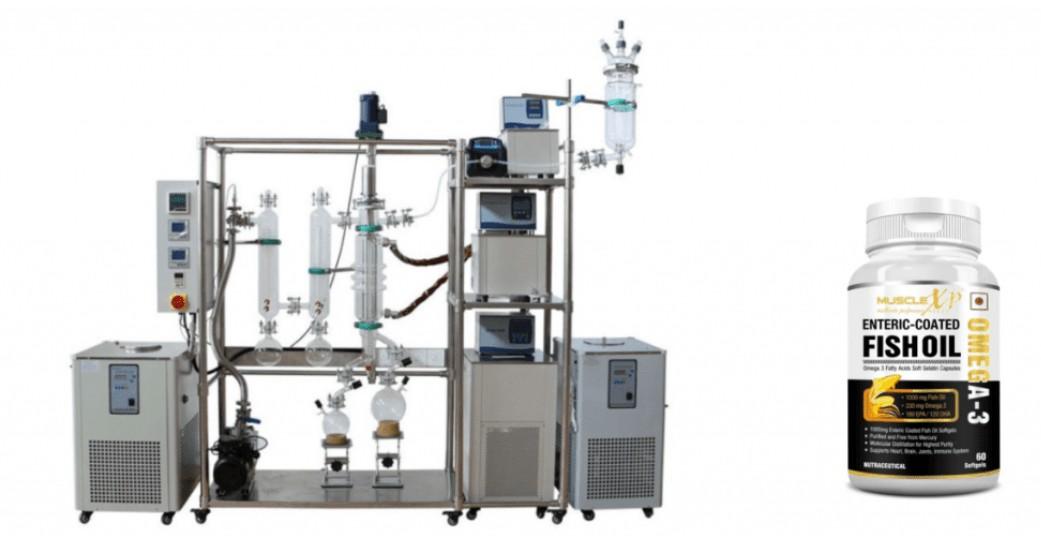 wiped film distillation in fine chemistry