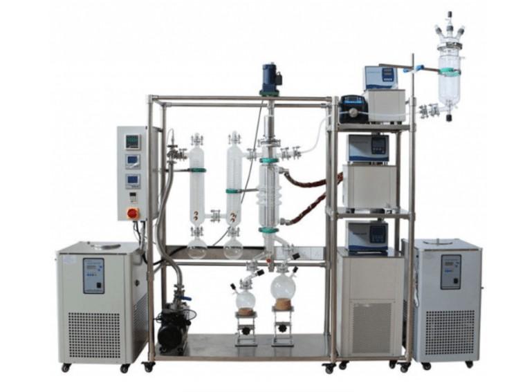 wiped film distillation