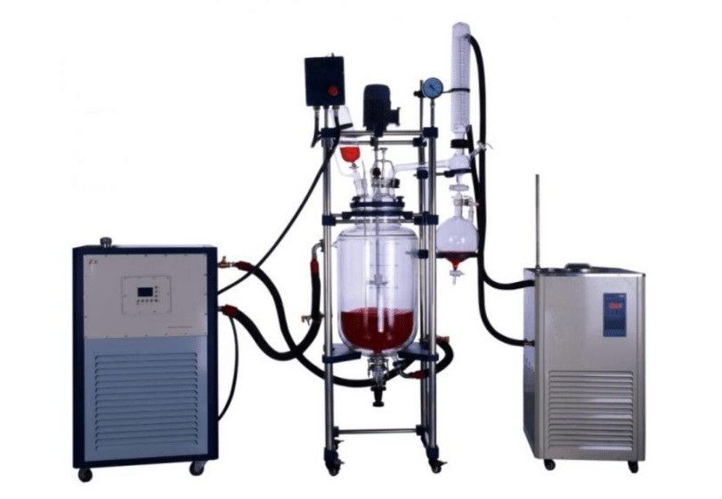 the applications of high pressure glass reactor