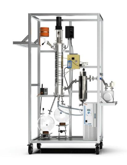 wkie lab wiped film evaporator