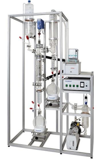 laboratory wiped film evaporator