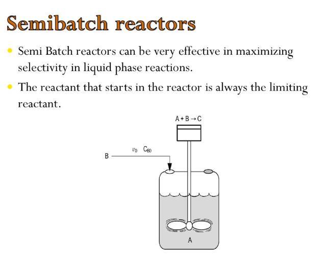 semi batch reactor